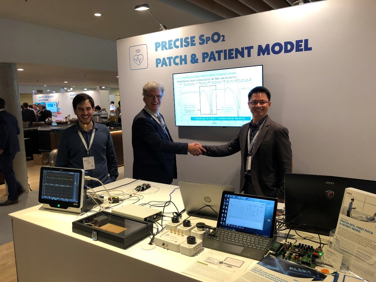 2018 / 07 / 23 WhaleTeq Goes Quickly to Cooperate with Imec